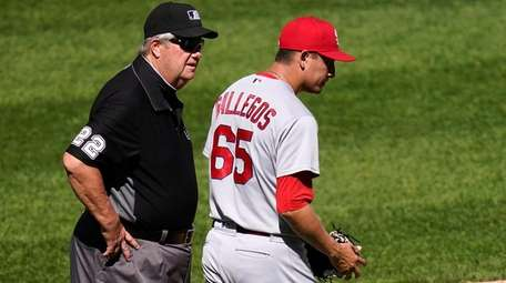 St. Louis Cardinals relief pitcher Giovanny Gallegos (65)