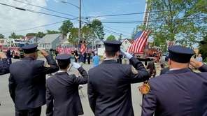 Fifth Street in East Meadow on Sunday was