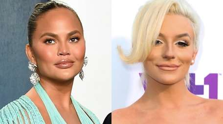 Chrissy Teigen, pictured left, has apologized for publicly