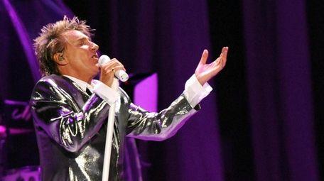 Rock and pop star Rod Stewart is one