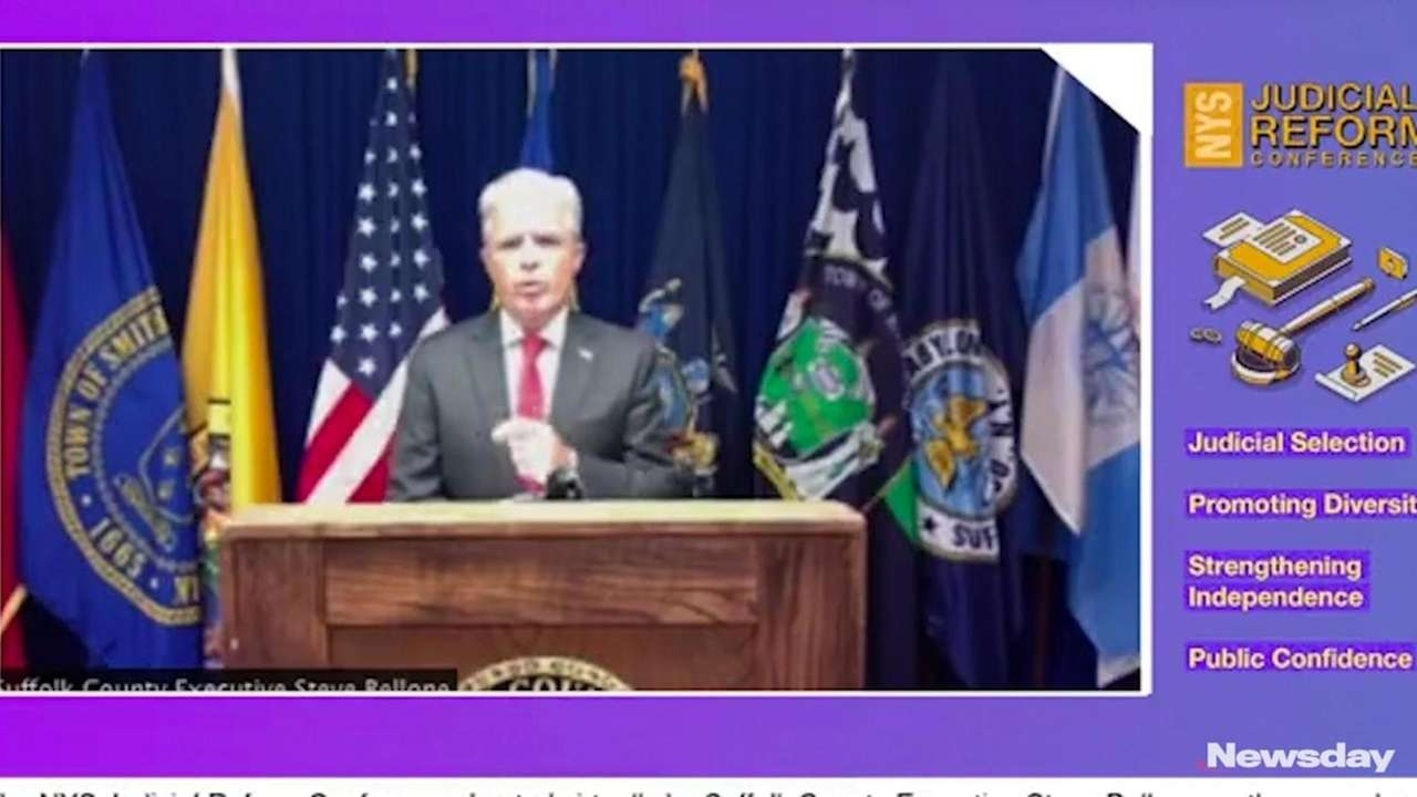 On Tuesday, Suffolk County Executive Steve Bellone hosted
