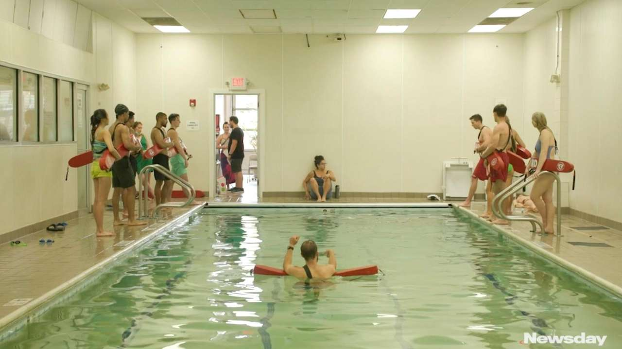 Lifeguards are in high demand on Long Island.