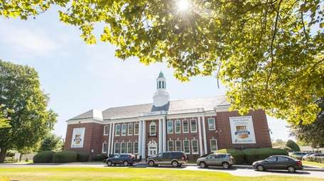 Bridgehampton School in Bridgehampton.