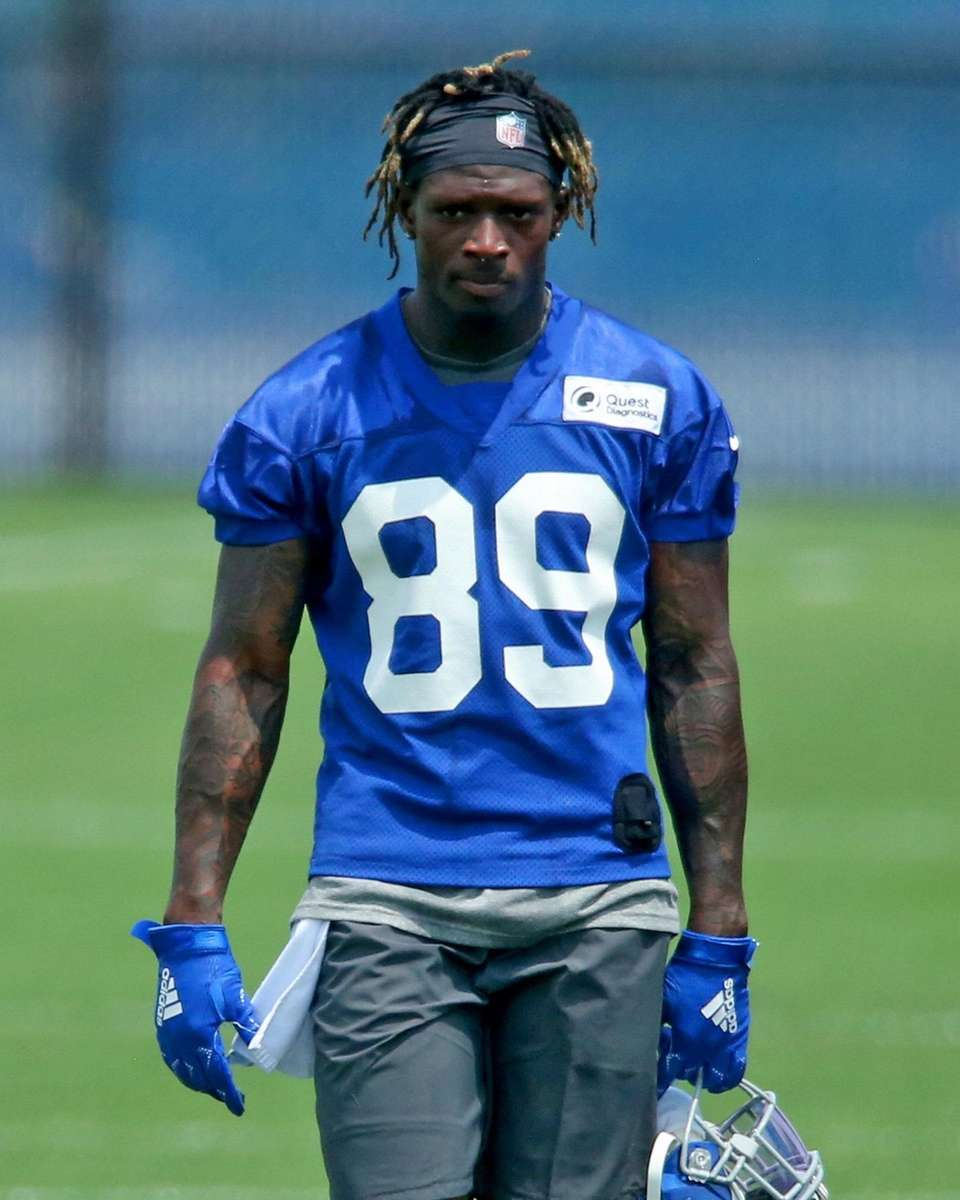New York Giants wide receiver and first-round draft