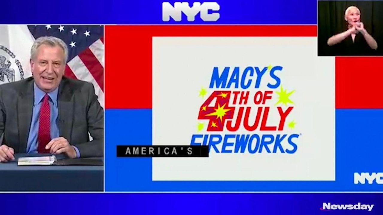 On Thursday, New York City Mayor Bill de