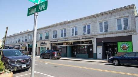 Shops on Tulip Avenue in Floral Park's business