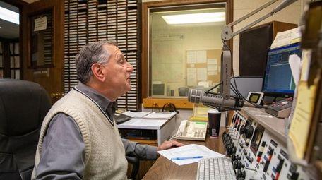 Manager Bruce Tria hosts Dawn Patrol morning show
