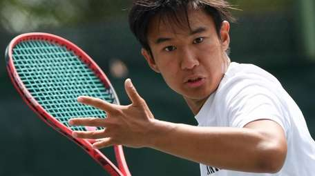 Syosset's Brian Gao teamed up with Jeremy Levine