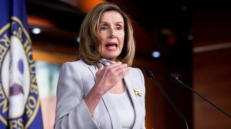 House Speaker Nancy Pelosi has an uphill battle