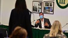Three Village school board member Jonathan Kornreich at