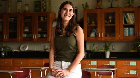 Saba Mehrzad, a senior at Syosset High School,
