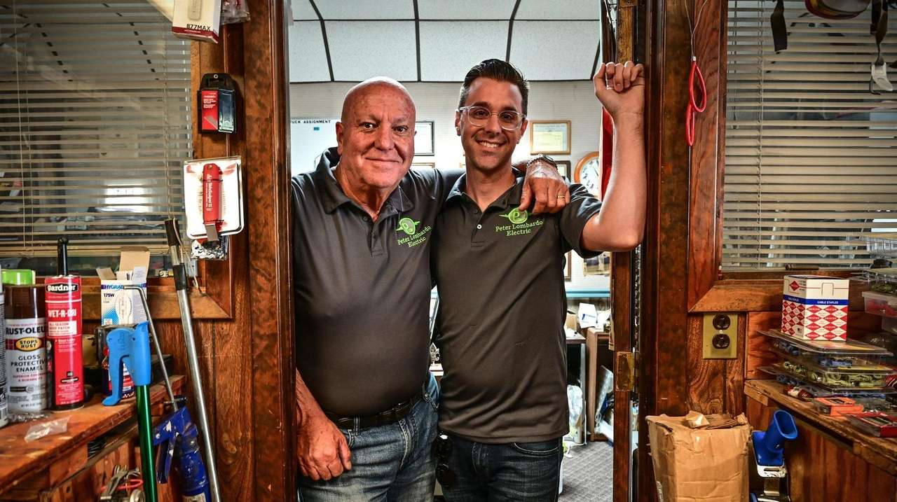 Peter and Mike Lombardo continued running their family