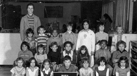Robert V. Conte Sofia's first-grade class photo in