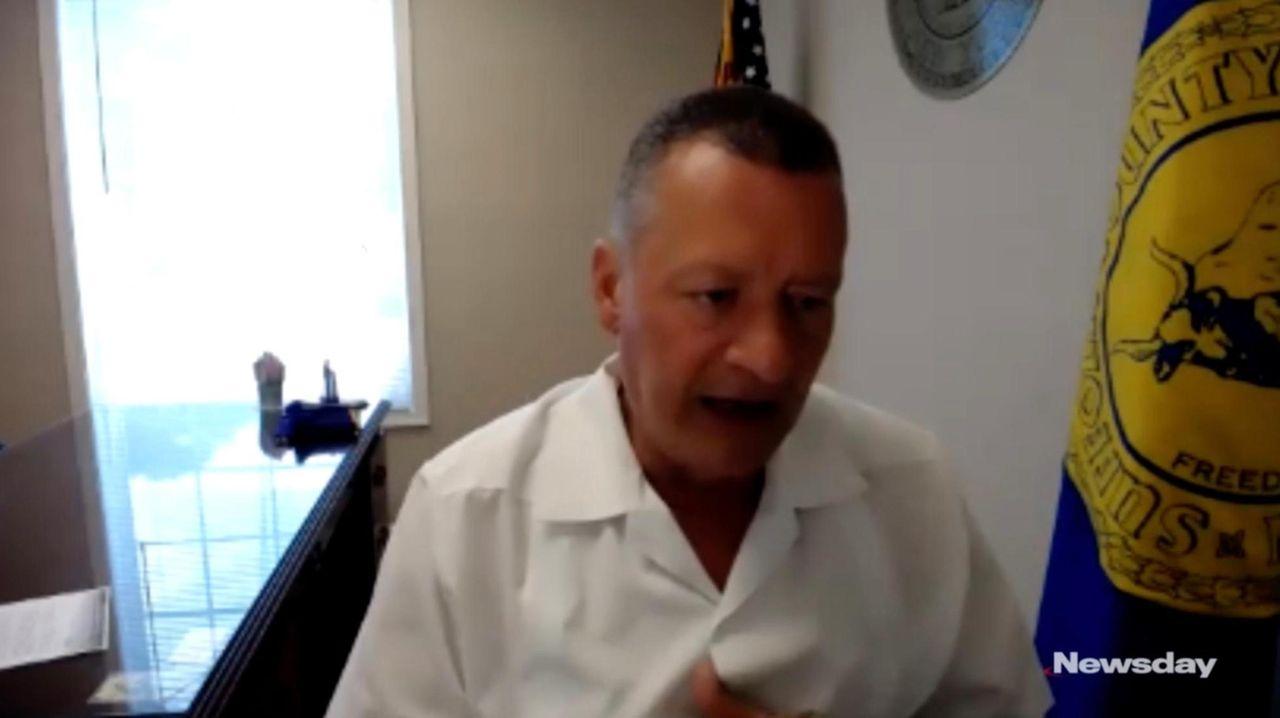 Lawmaker Samuel Gonzalez, chair of Suffolk County's Fair