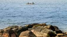 The Long Island Sound in Wading River.
