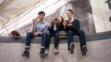 Radical Dads -- Chris Diken, Lindsay Baker and
