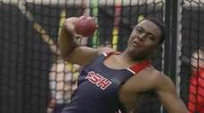 Cold Spring Harbor's David Brown finished first in