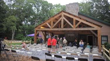 The McMorris Lodge at Baiting Hollow Scout Camp