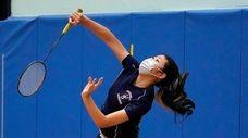 Great Neck South High SchoolÕs Kayla Wu follows