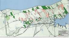 A map of unprotected farmland and open space