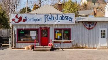 The Northport Fish and Lobster Co. market on