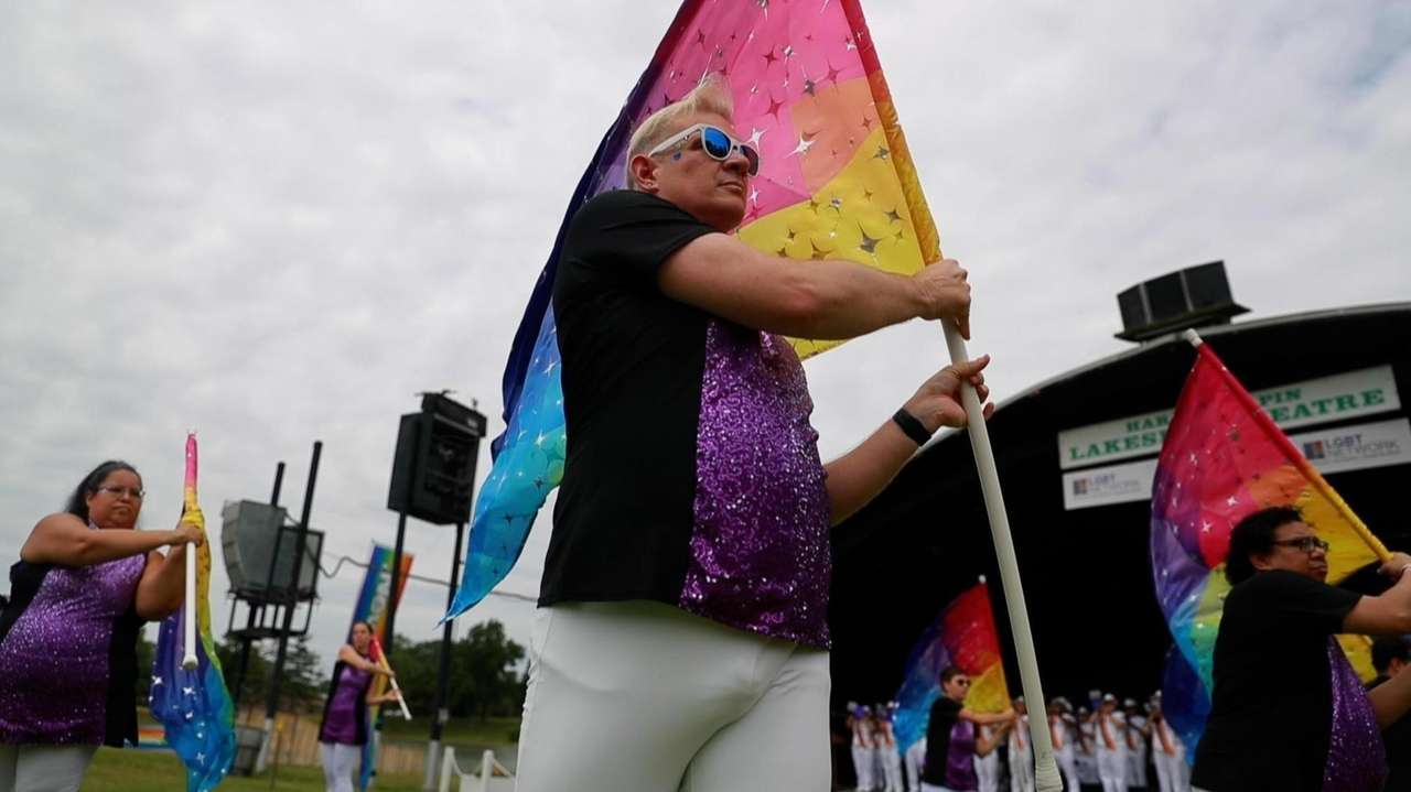 Thousands of LGBTQ community members and allies gathered