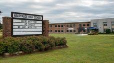 Hauppauge High School.