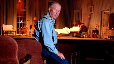 Actor Ned Beatty, posing at Manhattan's Music Box