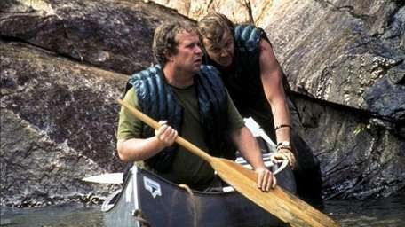 """Ned Beatty, left, and Jon Voight in """"Deliverance."""""""