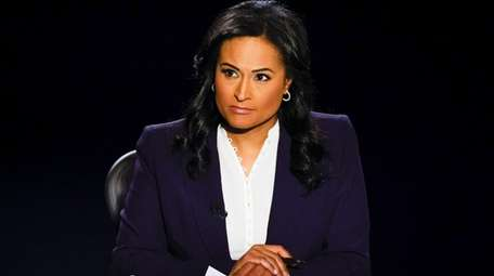 NBC News' Kristen Welker said of the arrival