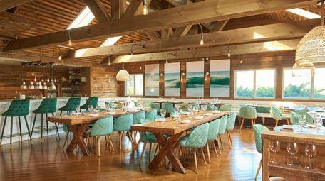 The interior of La Fin Kitchen and Lounge