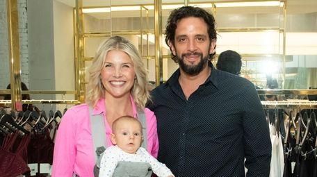 Amanda Kloots and husband Nick Cordero, pictured with