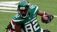 Jamison Crowder of the New York Jets the