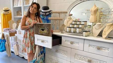 Jacqueline DiDonato owns Pandemonium Boutique in Northport and
