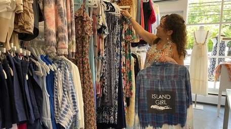 Jacqueline DiDonatoowns Pandemonium Boutique in Northport and Babylon.