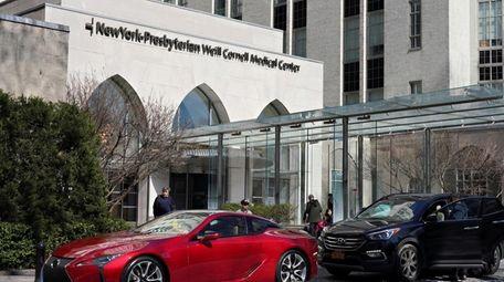 The Manhattan-based New York-Presbyterian health system on Friday