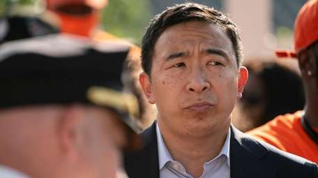 New York City mayoral candidate Andrew Yang.