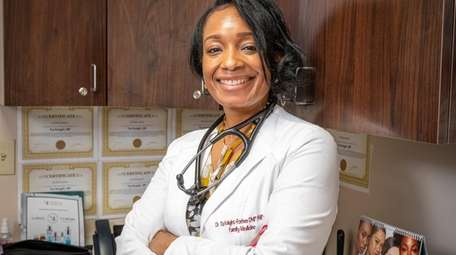 Nurse-practitioner Tia Knight-Forbes said she began her career