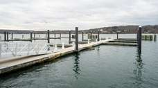 The Woodbine Marina in Northport, shown here on