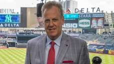 Michael Kay, YES Network announcer, poses for a