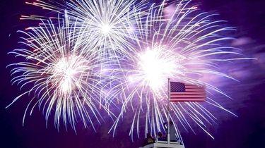 Fireworks will explode over Jones Beach State Park