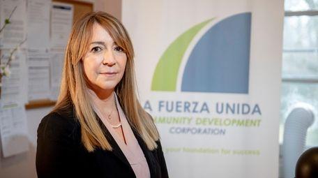 Giovana Bracchi, executive director of La Fuerza Community