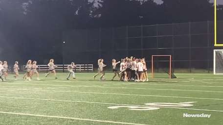 Center Moriches defeated Port Jefferson, 8-7, in overtime