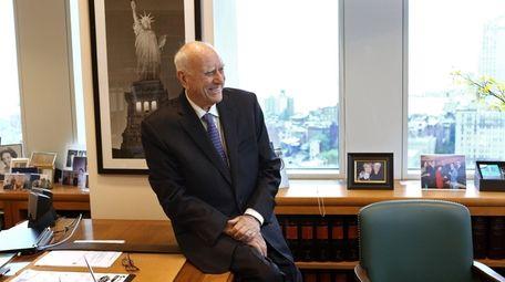 U.S. District Judge Jack B. Weinstein in 2021