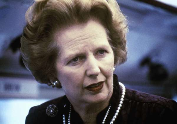 Margaret Thatcher in 1969.