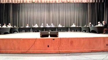 On Wednesday, a Sachem school board trustee resigned