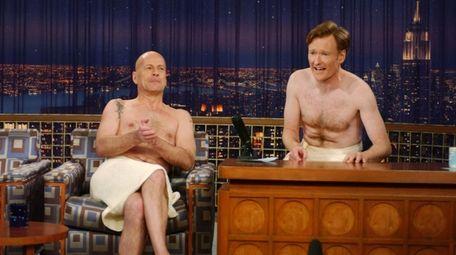 In this handout fron NBC, Actor Bruce Willis