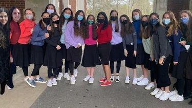 A team from Stella K. Abraham High School