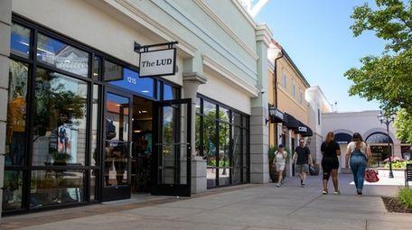 The Manhattan-based retailer The Lud has three pop-ups,