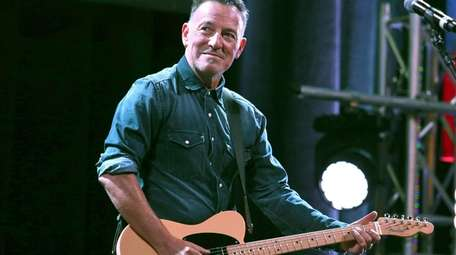 Guests at Bruce Springsteen's June 26 return to